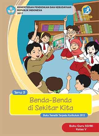 Buku Guru Tema 9: Benda-Benda di Sekitar Kita