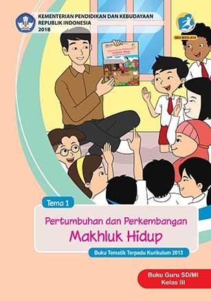 Buku Guru Tema 1: Pertumbuhan dan Perkembangan Mahluk Hidup