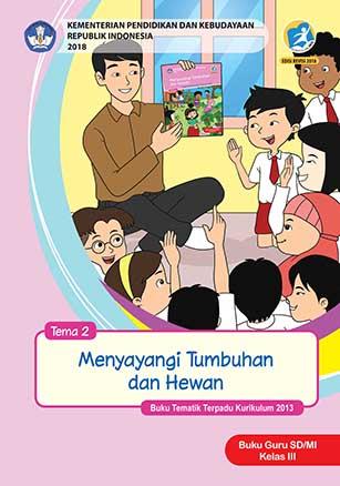 Buku Guru Tema 2: Menyayangi Tumbuhan dan Hewan