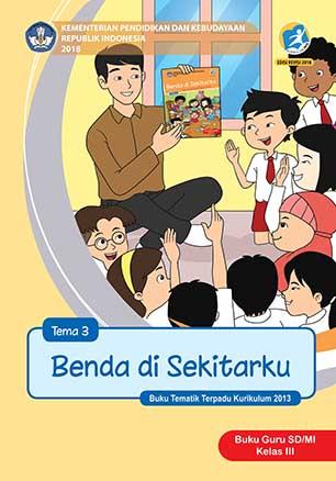 Buku Guru Tema 3: Benda di Sekitarku